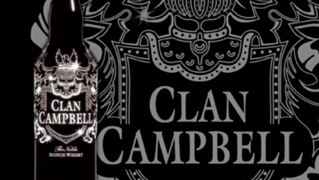 Clan Campbell Bouteille Nuit