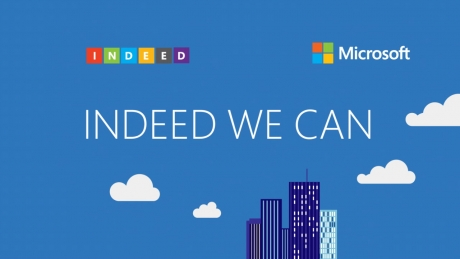 Microsoft Indeed We Can Conference Opener